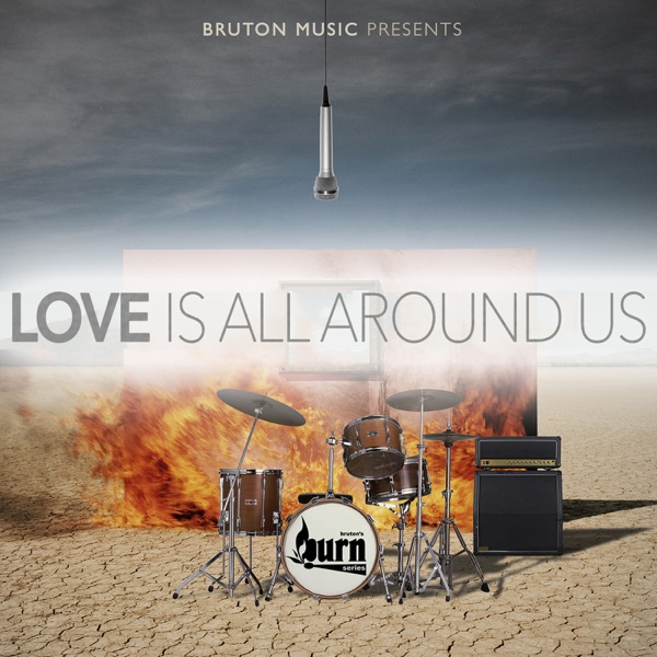 Love Is All Around Us - Single Bret Levick  Sean A Siders CD cover