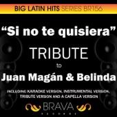 Si no te Quisiera (In the Style of Juan Magan & Belinda) [Acapella Version]