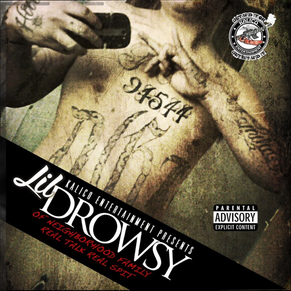 Real Talk Real Spit Lil Drowsy CD cover