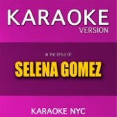 Karaoke (In the Style of Selena Gomez)