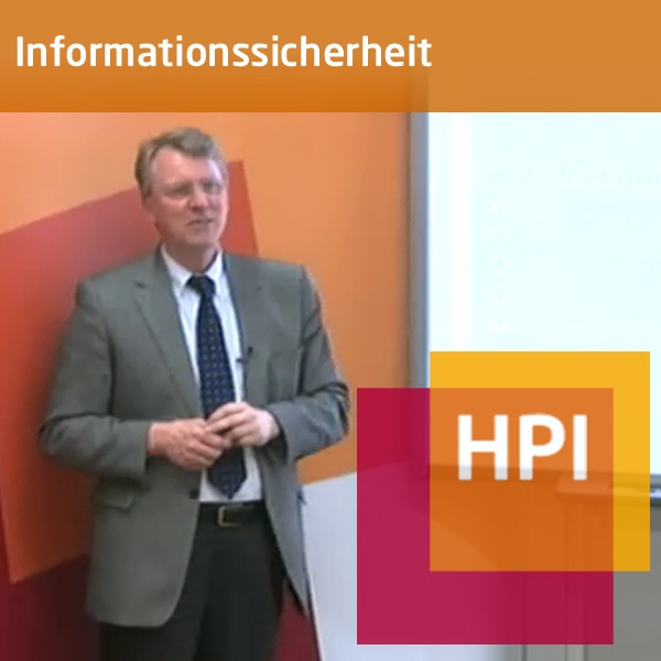 Informationssicherheit (SS 2011) - Created with tele-TASK - more than video! Powered by Hasso Plattn...