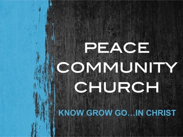 Peace Community Church Podcast