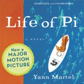 Life of Pi (Unabridged) - Yann Martel Cover Art