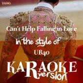 [Descargar Mp3] Can't Help Falling in Love (In the Style of Ub40) [Karaoke Version] MP3