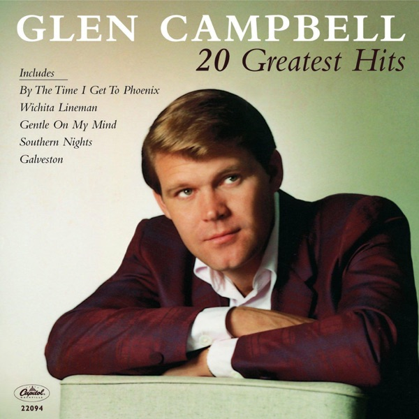 20 Greatest Hits Glen Campbell CD cover