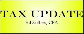 Ed Zollars' Tax Update Podcast