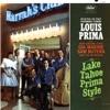 Lake Tahoe Prima Style (Live), Louis Prima