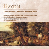 The Creation H XXI:2 (1988 Remastered Version), Part II: On Thee each living soul awaits (trio) - - Heather Harper, Cambridge King's College Choir, Academy of St. Martin in the Fields, James Lancelot, Sir David Willcocks & Robert Tear