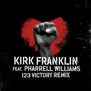 123 Victory (Remix) [feat. Pharrell Williams] - Single - Kirk Franklin, Kirk Franklin
