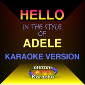 Hello (In the Style of Adele) [Karaoke Backing Track]