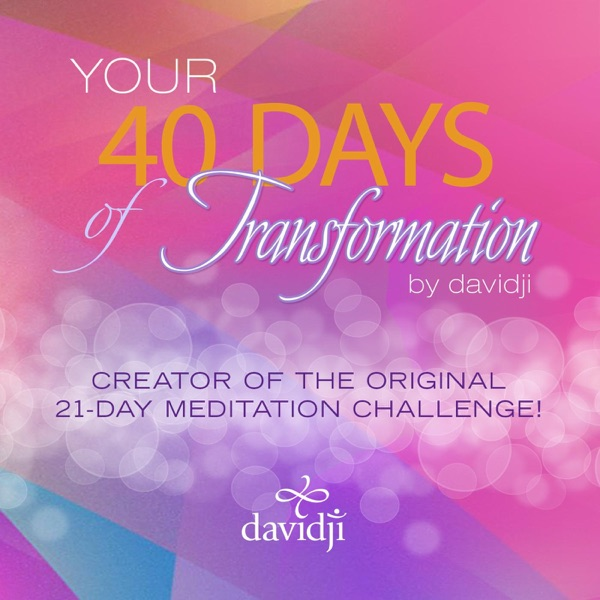 40 Days of Transformation Complete Set Davidji CD cover