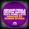 100% Pure Love (Remixes) - Single ジャケット写真