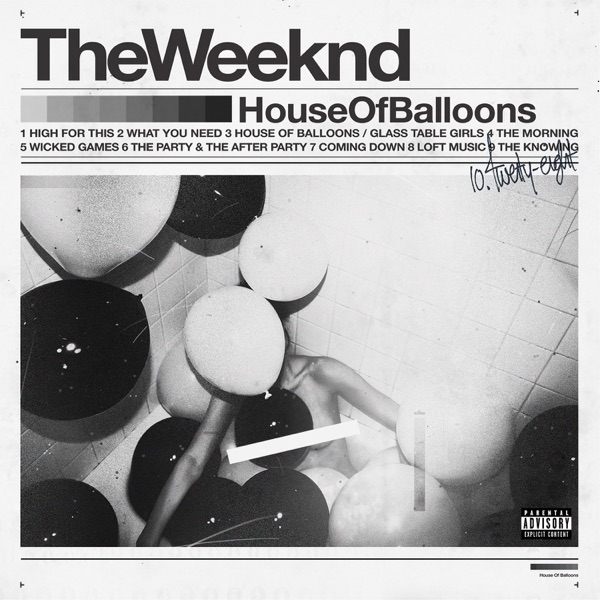 House of Balloons The Weeknd CD cover