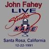 John Fahey LIVE at Studio KAFE ジャケット写真