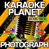 Photograph (Karaoke Version) [Originally Performed By Ed Sheeran]