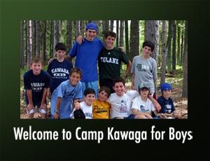 Welcome to Camp Kawaga for Boys