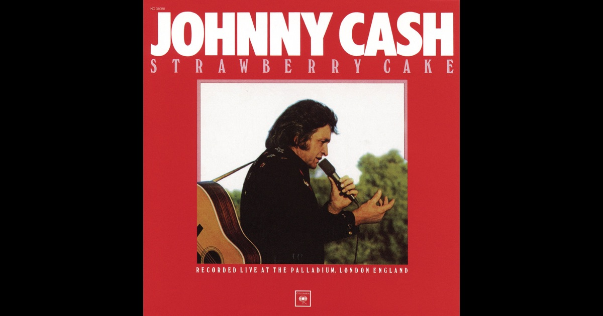 Johnny Cash Strawberry Cake