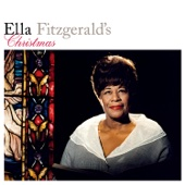 Ella Fitzgerald's Christmas cover art