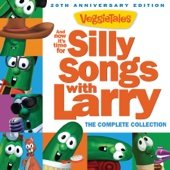 And Now It's Time for Silly Songs with Larry (The Complete Collection / 20th Anniversary Edition) - VeggieTales Cover Art
