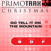 Go Tell It On the Mountain - Christmas Primotrax - Performance Tracks (Slow) - EP