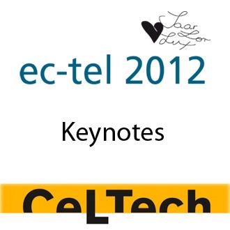 EC-TEL 2012: Keynotes