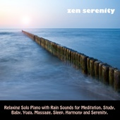 Relaxing Solo Piano with Rain Sounds for Meditation, Study, Baby, Yoga, Massage, Sleep, Harmony and Serenity.