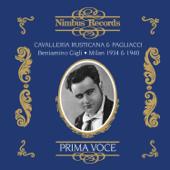 Pagliacci, Act I Scene II: Recitar! ... Vesti la giubba (Recorded 1934)