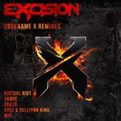 Codename X - The Remixes - EP cover art