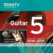 Trinity College London Guitar Grade 5 2016-2019
