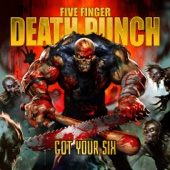 Five Finger Death Punch - Wash It All Away artwork
