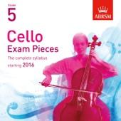 Cello Exam Pieces Starting 2016, ABRSM Grade 5