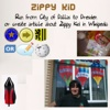 Run from City of Dallas to Dresden Or Create Article about Zippy Kid in Wikipedia - Single