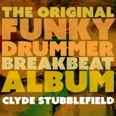 The Original Funky Drummer Breakbeat Album - Clyde Stubblefield Cover Art