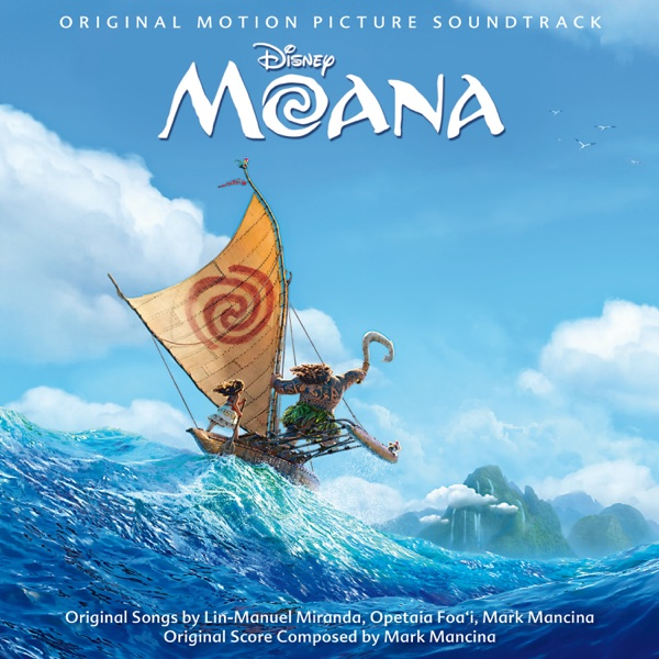 Moana Original Motion Picture Soundtrack Various Artists CD cover