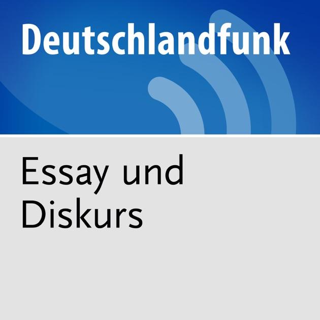 dradio essay und diskurs podcast