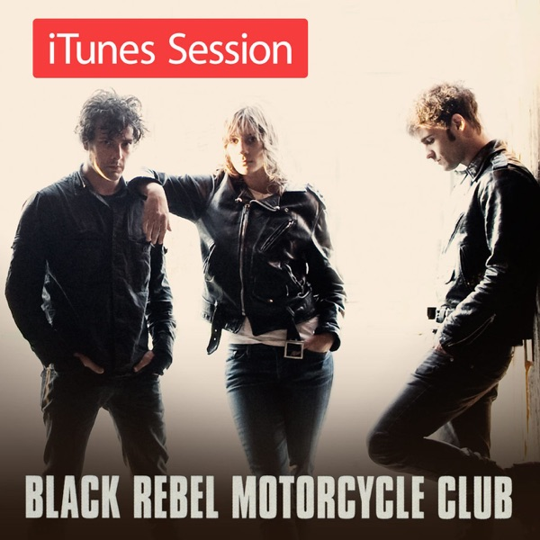 iTunes Session Black Rebel Motorcycle Club CD cover