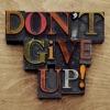 Don't Give Up! - EP ジャケット写真