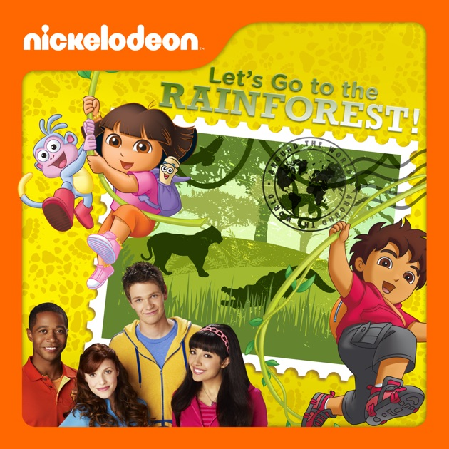 Nick Jr. Around The World, Let's Go To The Rainforest! On