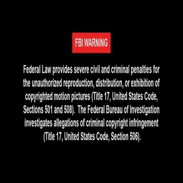 FBI Warning!!!