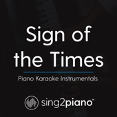 Sing2Piano - Sign of the Times (Lower Key & Shortened) [Originally Performed By Harry Styles] [Piano Karaoke Version] artwork