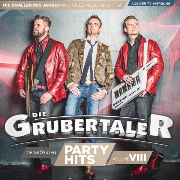 Die größten Partyhits - VOL. VIII | Die Grubertaler