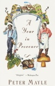 A Year in Provence - Peter Mayle Cover Art