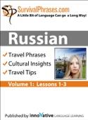 Russian Volume 1 - Survival Phrases (Enhanced Version)