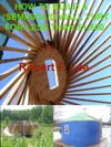 How To Build A Semi Solid Yurt For Under 1500