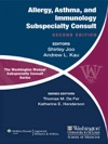 The Washington Manual Of Allergy Asthma And Immunology Subspecialty Consult Second Edition