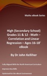 High Secondary School Grades 11  12 - Math - Correlation And Linear Regression - Ages 16-18 - Cover Sheet