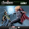 The Avengers Battle Against Loki