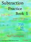 Subtraction Practice Book 1 Grade 3