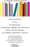 Cuaderno I El Matrimonio Y Situaciones Anlogas De Convivencia Crisis Y Efectos Comunes A La Nulidad Separacin Y Divorcio