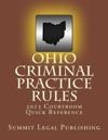 Ohio Criminal Practice Rules 2013